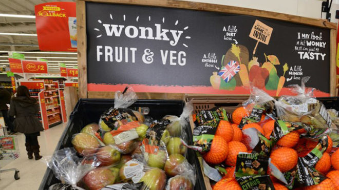 'Wonky vegetables' should not be wasted, say British MPs