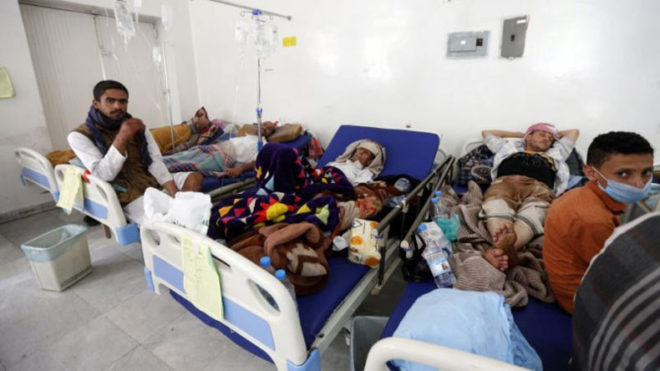 7.6 million Yemeni people live in high-risk areas for cholera: UN