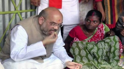 Tribal couple who hosted BJP president Amit Shah joins Trinamool Congress