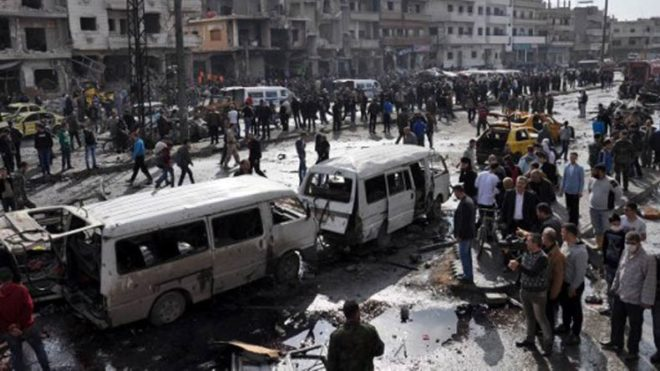 At least 21 dead from attack on Syrian rebel base