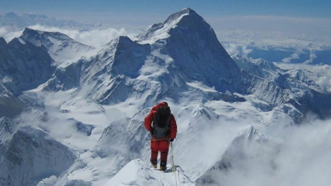 Indian climber from Uttar Pradesh goes missing while descending Mt. Everest