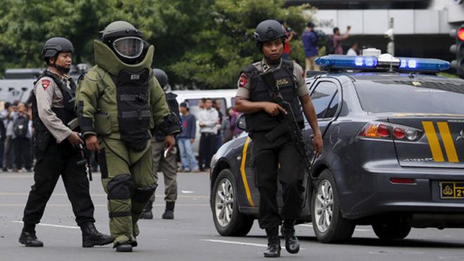 Indonesia: Two including a suspected suicide bomber dead in Jakarta bomb blast