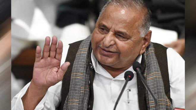Mulayam Singh Yadav watches 'Baahubali 2: The Conclusion' with SP leaders