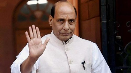Home Minister Rajnath Singh reviews security in Maoist-affected areas; calls for financial choking