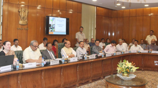 Rajnath Singh reviews security situation in northeast