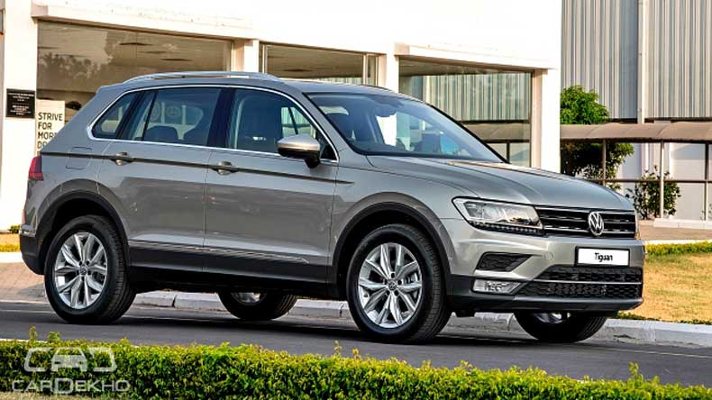Volkswagen Tiguan Launched In India, Prices Start At INR 27.68 Lakh