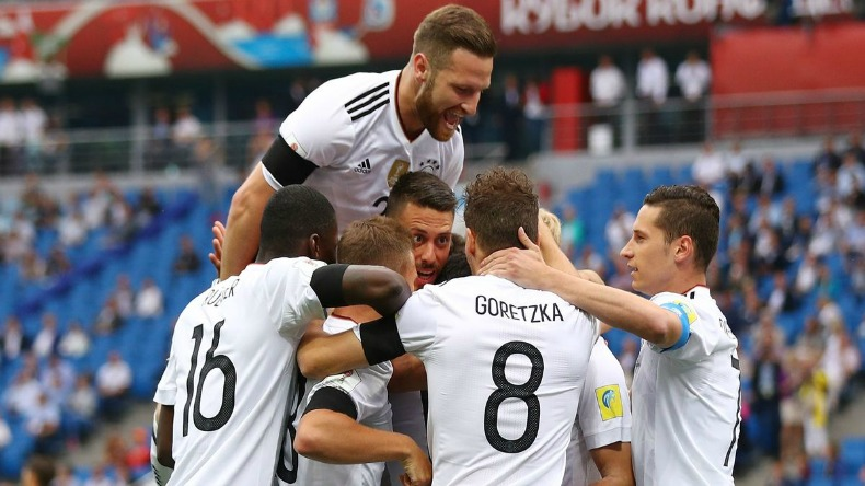 World Champions Germany starts FIFA Confed Cup with 3-2 win over Australia