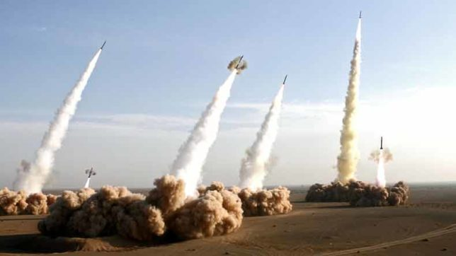 Iran targets 'terrorists' in Syrian city, launches missile attack