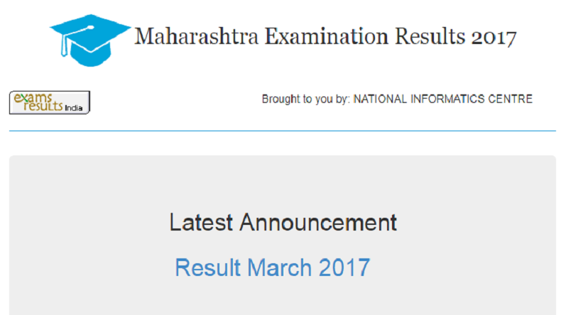 Maharashtra SSC Result 2017 is expected by 9 June