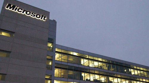 Two held for conspiracy to hack Microsoft network