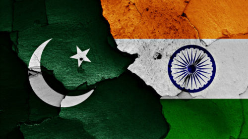 Pakistan-India-flags