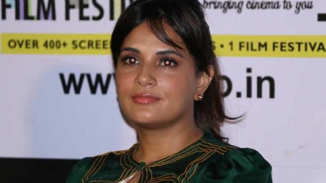 Never scared of experimenting with my roles, says Richa Chadha