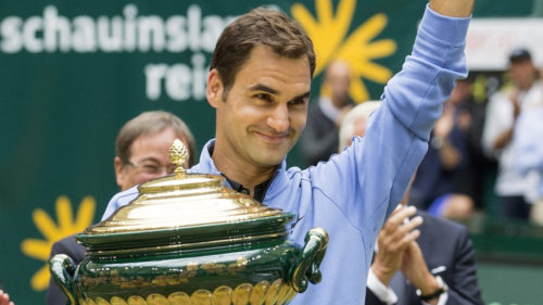Halle Open 2017: Roger Federer clinches title; beats Alexander Zverev in the final