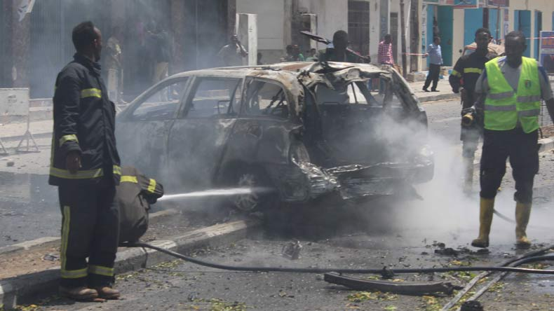 Over 19 Killed in Hotel Attack in Somalia's Capital