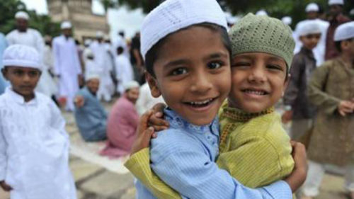 Kerala celebrates Eid amid rains