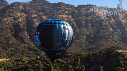 Rajinikanth set to conquer West; '2.0' hot air balloon floats above Hollywood