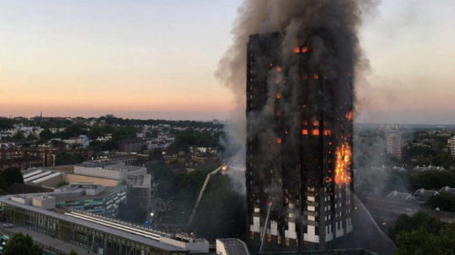 London fire: Grenfell victims 'murdered' by political decisions, says Labour leader