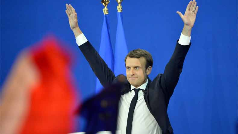 Emmanuel Macron's centrist party wins majority in parliamentary polls