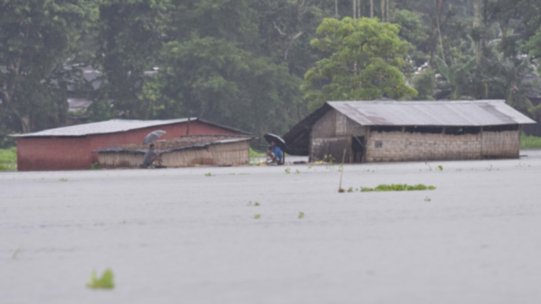 12 lakh affected in Assam floods, death toll rises to 60