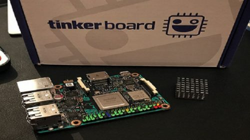 Make your own IoT device with ASUS Tinker Board