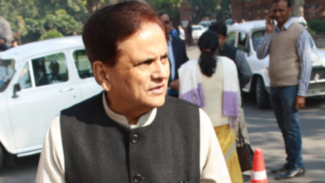 I am not in race for CM's post: Ahmed Patel