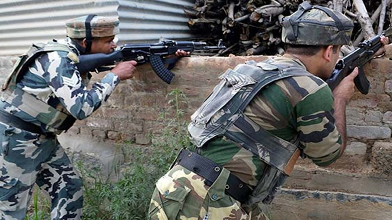 3 terrorists killed in chance encounter at Valley