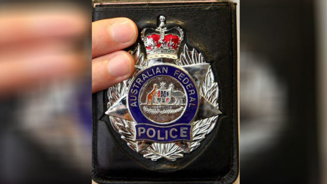 Australian police badges for sale on dark web
