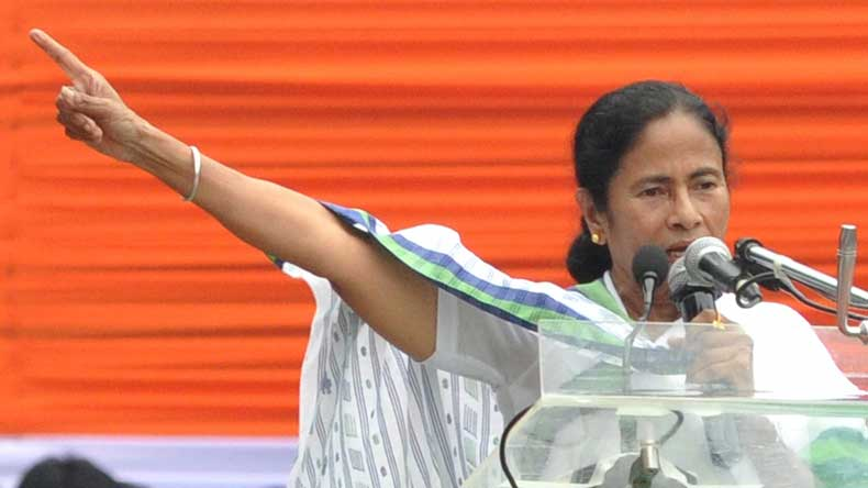 Two armed men detained outside Mamata's residence