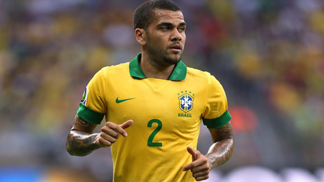 Brazil defender Dani Alves mulling offers from England, France