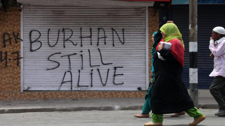 Unprecedented clampdown on Burhan Anniversary