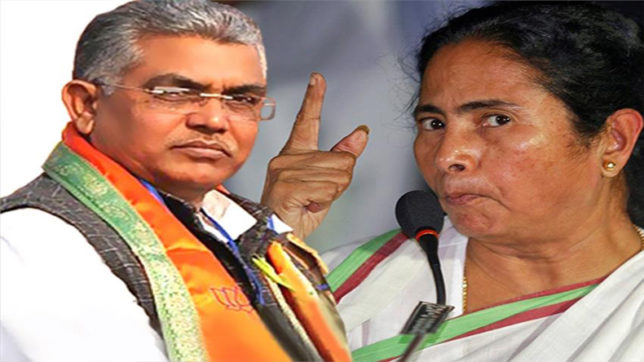BJP chief Dilip Ghosh demanded Chief Minister Mamata Banerjee's resignation