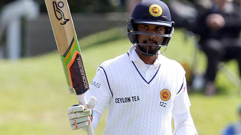 Dinesh Chandimal to miss the first Test match against India