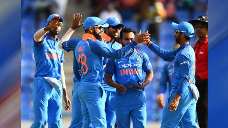 Ind VS WI, 5th ODI: India restrict West Indies to low total