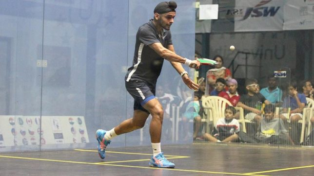 Harinder Pal Sandhu clinches Victoria open squash title