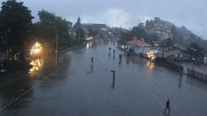 Himachal hills continue to experience heavy rainfall