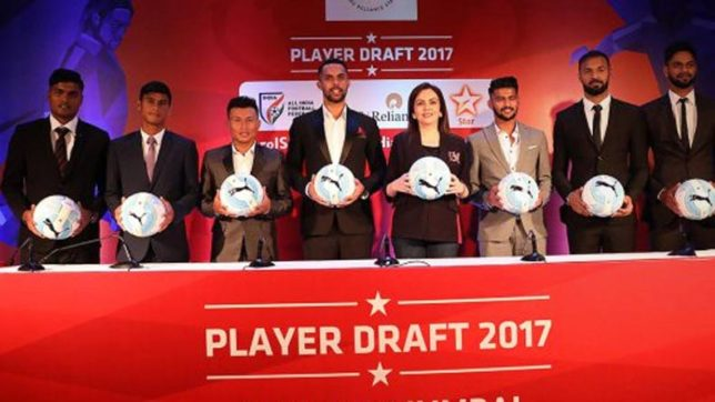ISL, 2017 Draft: List of full Indian players picked