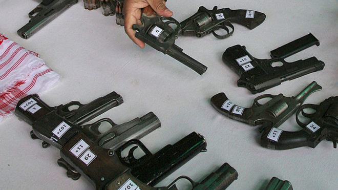 Uttar Pradesh: Two held, firearms factory unearthed