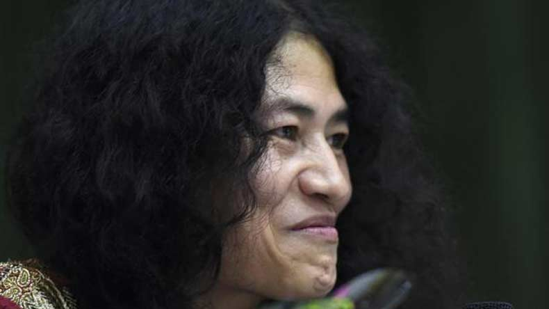 Irom Sharmila files application to register marriage with British friend Desmond Coutinho