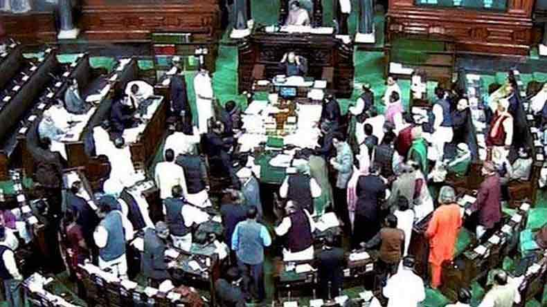Congress creating ruckus in parliament to divert attention from Bofors