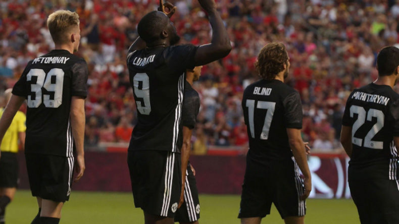 Man Utd 2-1 Real Salt lake: Romelu Lukaku scores his first goal for United