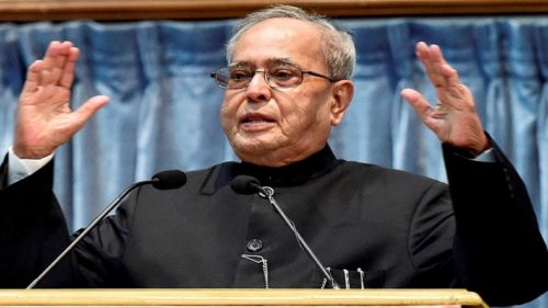 Pranab Mukherjee remembers 'mentor' Indira Gandhi in farewell speech
