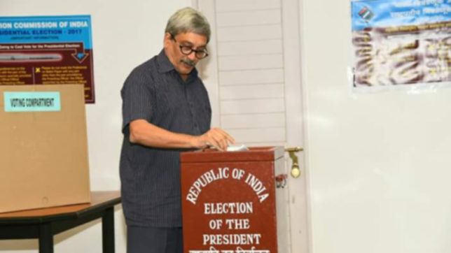 Voting for presidential election ends