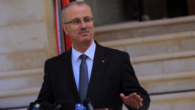 Palestine PM Rami Hamdallah calls on UN for international protection