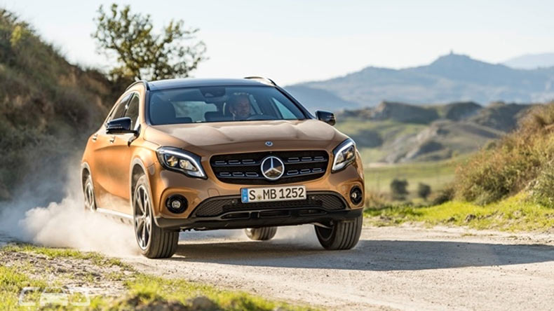 Mercedes-Benz GLA facelift to launch on July 5