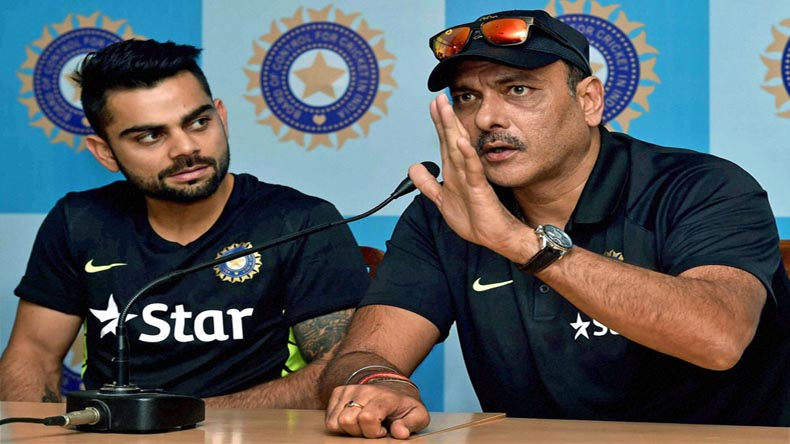 Virat Kohli, Ravi Shastri exhibit the return of the camaraderie