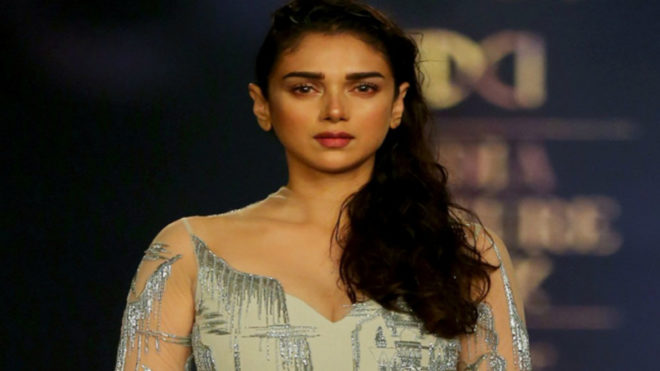 Gaurav Gupta celebrates 'Moondust' with Aditi Rao on runway