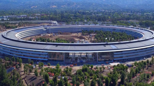 New video shows work on Apple Park continues