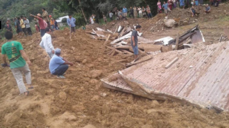 Five killed, 10 missing in landslide in remote India