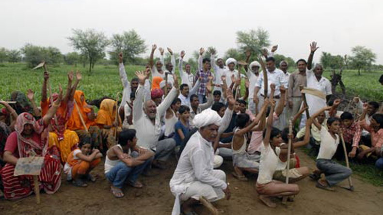 Farmer rights organisation slams Modi govt for 'anti-farmer' policies