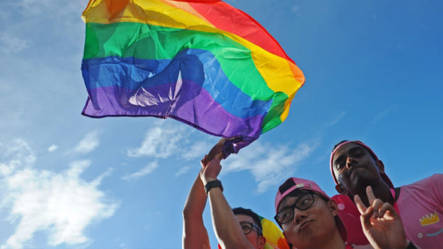 Gay relationships still criminalised in 72 countries